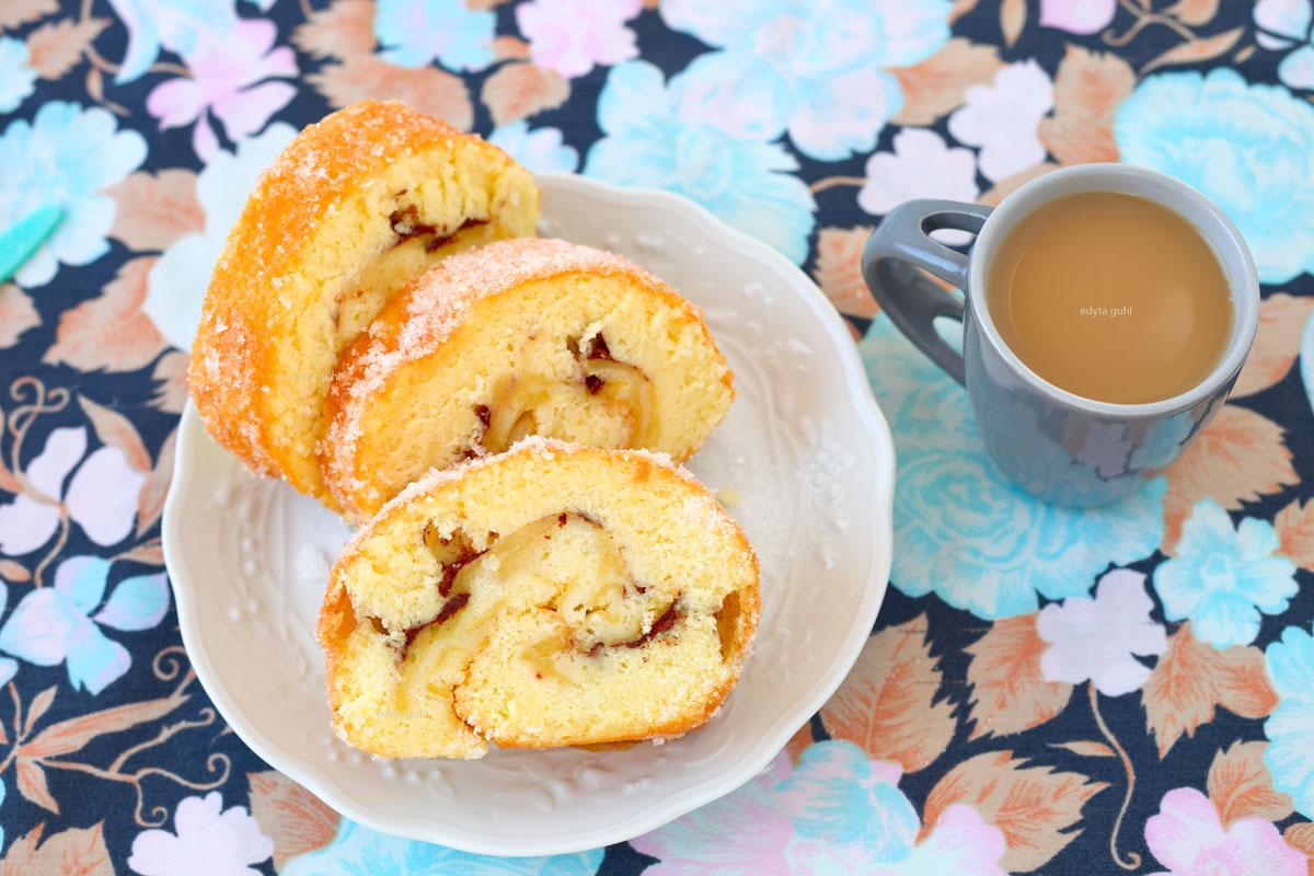 apfel-biskuitrolle